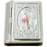 Rosenkranz Etui Bibelformat Kommunion Mädchen 5 cm 001