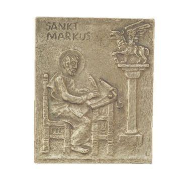 Markus Namenspatron-Bronzerelief (13 cm)