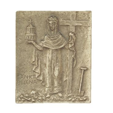 Helena Lena Namenspatron-Bronzerelief (13 cm)