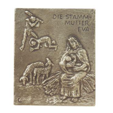 Eva Namenspatron-Bronzerelief (13 cm)