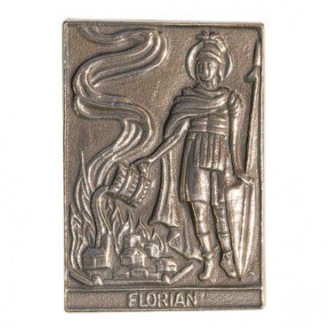 Florian Namenspatron-Bronzerelief (8 cm)