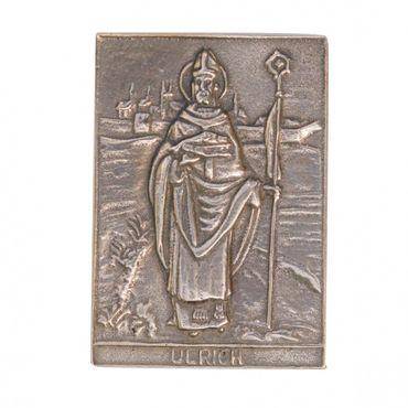 Ulrich Namenspatron-Bronzerelief (8 cm)