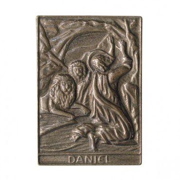 Daniel Namenspatron-Bronzerelief (8 cm)