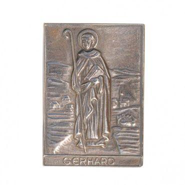 Gerhard Namenspatron-Bronzerelief (8 cm)