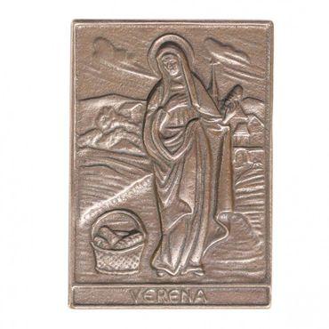 Verena Namenspatron-Bronzerelief (8 cm)