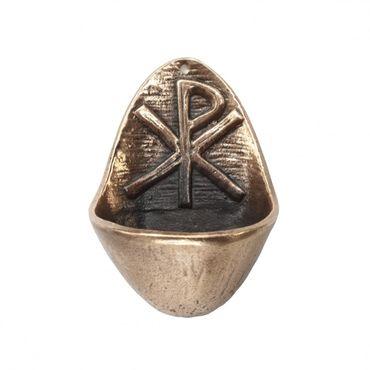 Weihwasserkessel PX 10 cm Bronze