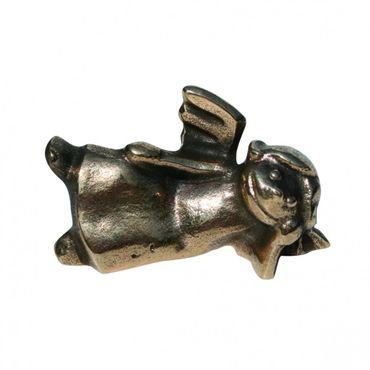 Schutzengel Engelchen, liegend Bronzefigur 6 cm
