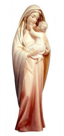Maria mit Kind geschnitzt & bemalt