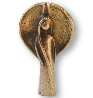 Handschmeichler Mein Begleiter Schutzengel Bronze 5 cm