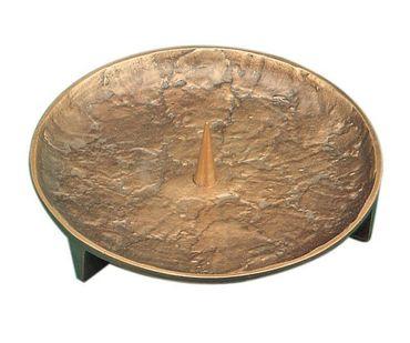 Kerzenleuchter Ø 14 cm Bronze, handgegossen