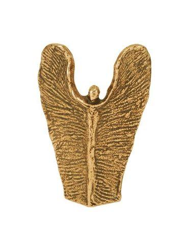 Skulptur Engel der Stärke Bronze 7 cm
