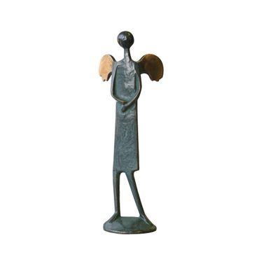Bronzeskulptur Die Schüchterne 23 cm