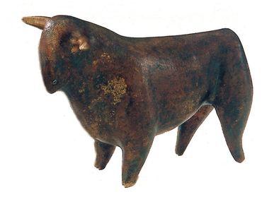 Bronzeskulptur Bulle Schmelter limitierte Auflage