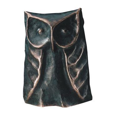 Bronzeskulptur Eule limitiert und numerierte Auflage