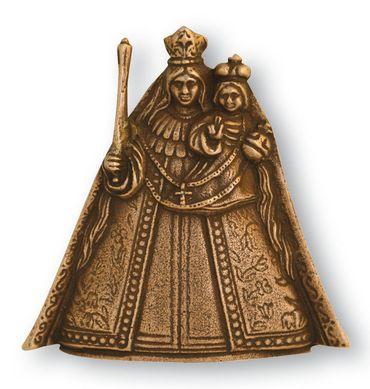 Schutzmantelmadonna Kevelaer Bronzefigur vollplastisch