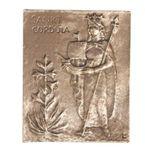 Cordula Namenspatron-Bronzerelief (13 cm) 001