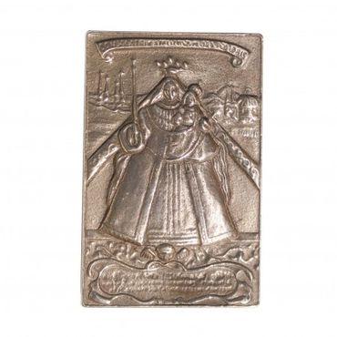 Kevelaer Madonna Relief 9 x 6 cm Bronze
