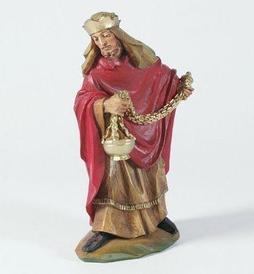 König stehend Malsiner Krippe Krippen Figur