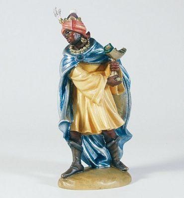Krippenfigur König, Mohr Mesner-Krippe 22 cm