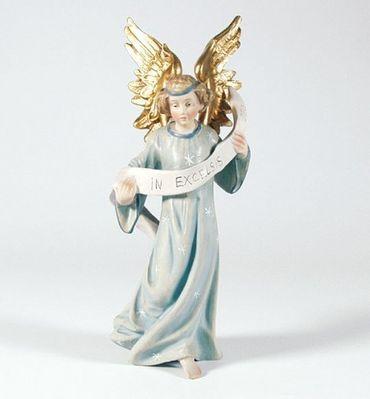 Krippenfigur Engel, hängend Mesner-Krippe 22 cm