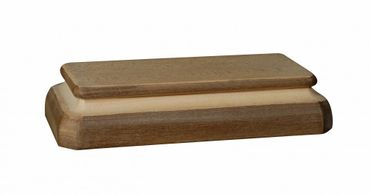 Paarkonsole für 2 Holzfiguren Holz, geschnitzt