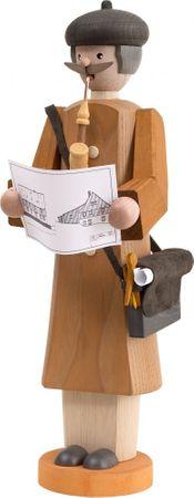 Räuchermännchen Architekt 30 cm Seiffen Erzgebirge