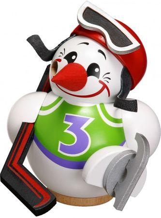 Räuchermännchen Cool-Man Eishockeyspieler, weiß 11 cm
