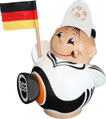 Räuchermännchen Fußballfan 12 cm Seiffen Erzgebirge