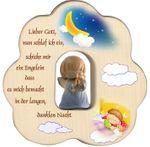 Wolke mit Schutzengel, blau Gute-Nacht Gebet 12 cm 001