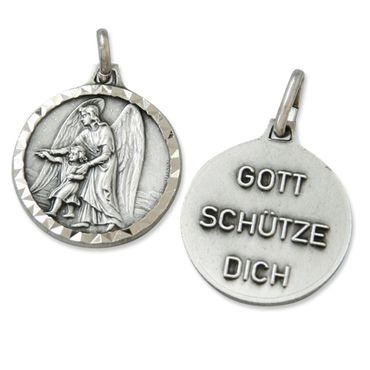 Anhänger Schutzengel Gott schütze Dich 1,5 cm Engel Schmuck