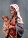 Marienstatue Bergmadonna mit Jesukind Holz, geschnitzt Südtiroler Schnitzkunst – Bild 4