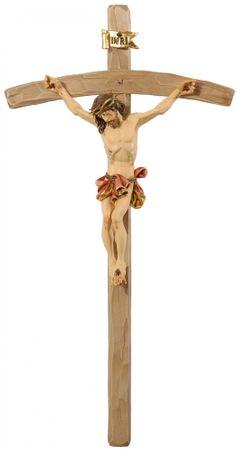 Kruzifix Jesus mit Dornenkrone Barock geschnitzt