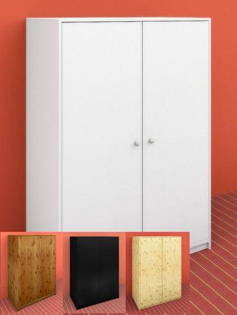 Kleiderschrank Stockholm Dahlhaus 2 trg Kiefer alle Farben – Bild 1