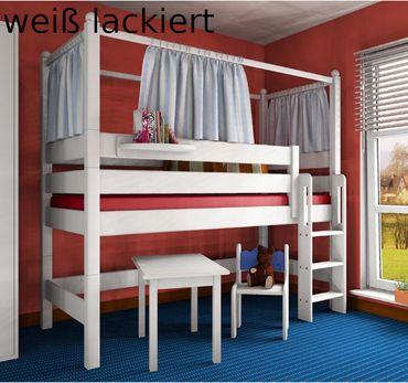 Himmelaufsatz für alle unsere Betten Kiefer /Buche alle Farben – Bild 1