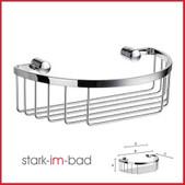 Bad Accessoires Smedbo Sideline Design Seifenkorb oval - verchromt
