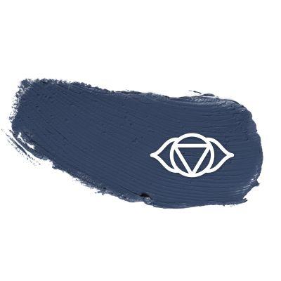 Colors of Intuition Farbeklecks blau - follow your flow