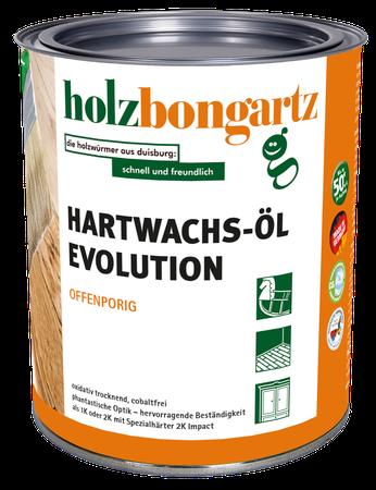 Hartwachs-Öl evolution farbig