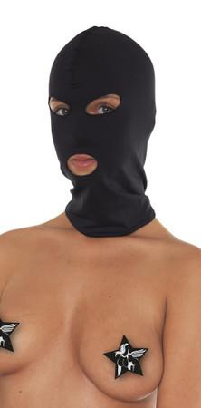 Kopfmaske offen