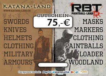 Gift Coupon 75,00 €