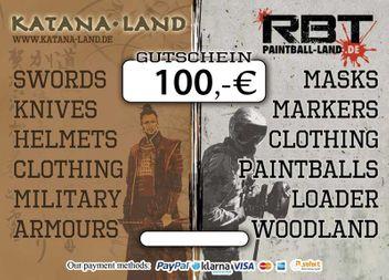 Geschenkgutschein 100,00 €