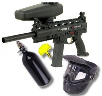 Tippmann X7 Phenom HP Paintball Set