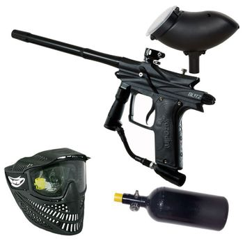 Azodin Blitz 3 HP Paintball Set - black