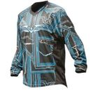 Valken Crusade Paintball Jersey Tron blue