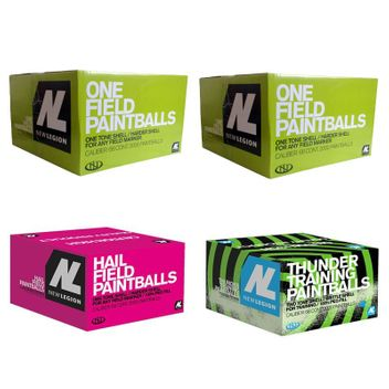New Legion Paintball Package - 1x Hail, 1xThunder, 2x One