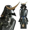 Samurai Krieger - schwarz - Data Masamune Shogun Japanische Samurai Rüstung Miniatur