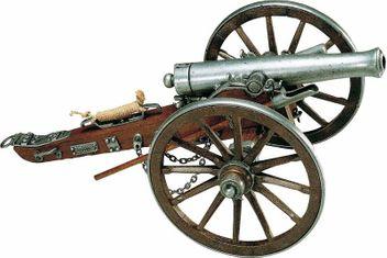 Kanone Bürgerkrieg
