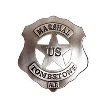 Abzeichen Marshal Tombstone
