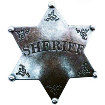 Abzeichen Sheriffstern