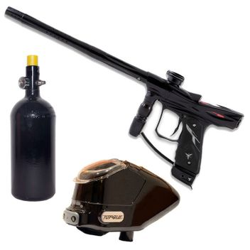 Dangerous Power Rev-i Paintball Package - black