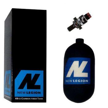 1,1 Liter New Legion Dwarf Composite HP System inkl. Ninja SLP Regulator